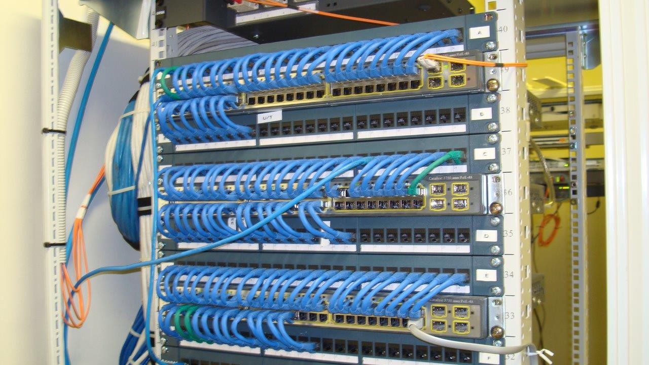 Commercial Megamind Audio Visual Structured Wiring